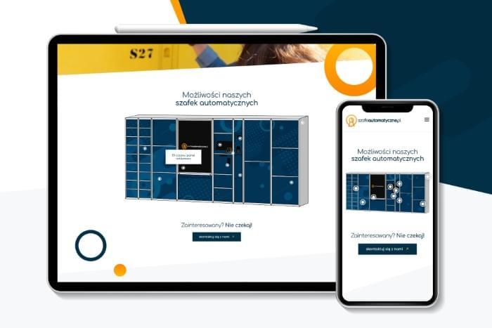 Szafkiautomatyczne.pl - Strona www dla Polskiego dystrybutora szafek automatycznych (projekt + kodowanie)