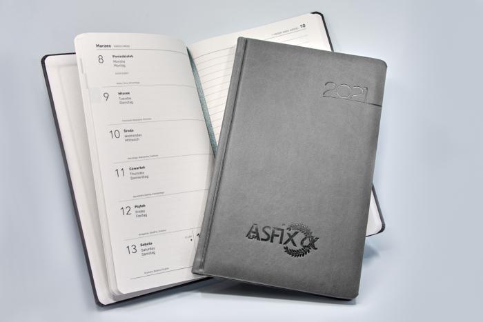 Asfix Alfa - Kalendarze tygodniowe z notatnikiem EKO - VIVA