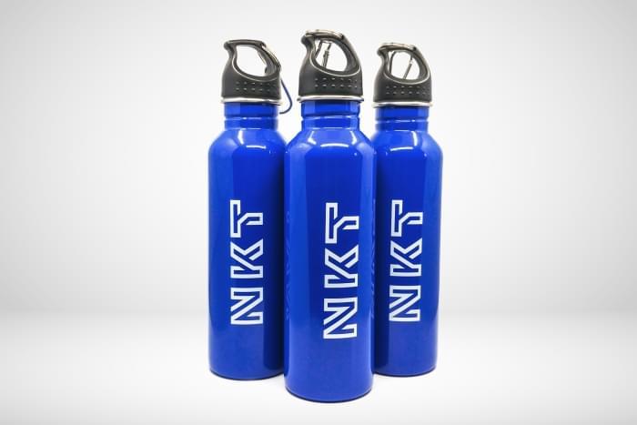 NKT - Bidon aluminiowy z karabińczykiem dla producenta przewodów i kabli z Warszowic