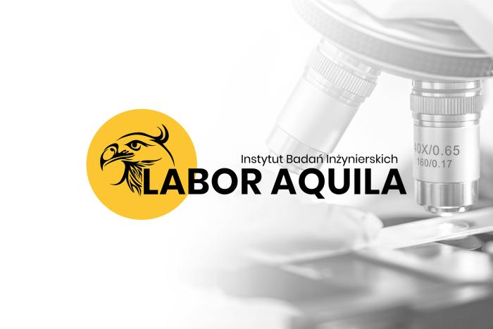 Instytut Badań Inżynieryjnych Labor Aquila - Logo dla Instytutu Badań Inżynieryjnych z Nowa Wieś - Poczesna (obok Częstochowy)