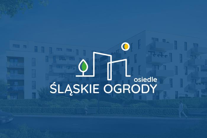 Osiedle Śląskie Ogrody - Logo dla osiedla apartamentów w Tychach