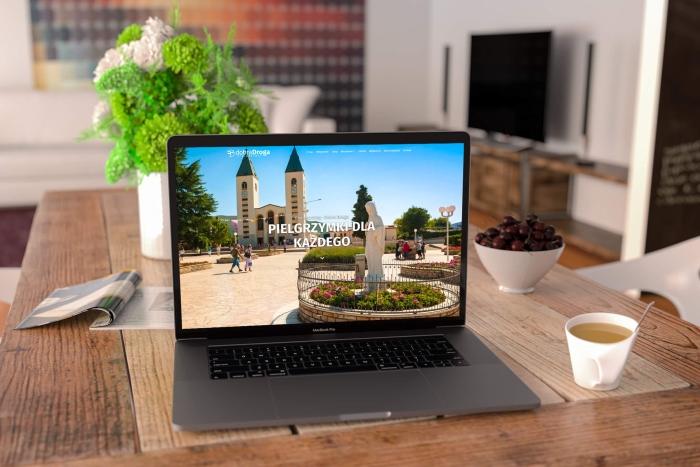 Dobra Droga Pielgrzymki - Strona www dla Biura podróży Dobra Droga Pielgrzymki z Tychów (projekt + kodowanie)
